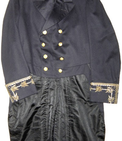 Spanish Court Naval Canal System tunic